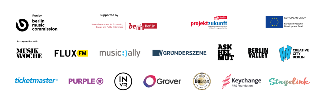 Partner, Sponsoren, FluxFM, Music Ally, MusikWoche, Ask Helmut, Gründerszene