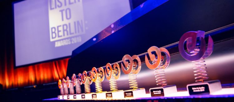listen to berlin: Awards, listen to berlin: Awards 2020, Call For Nominations