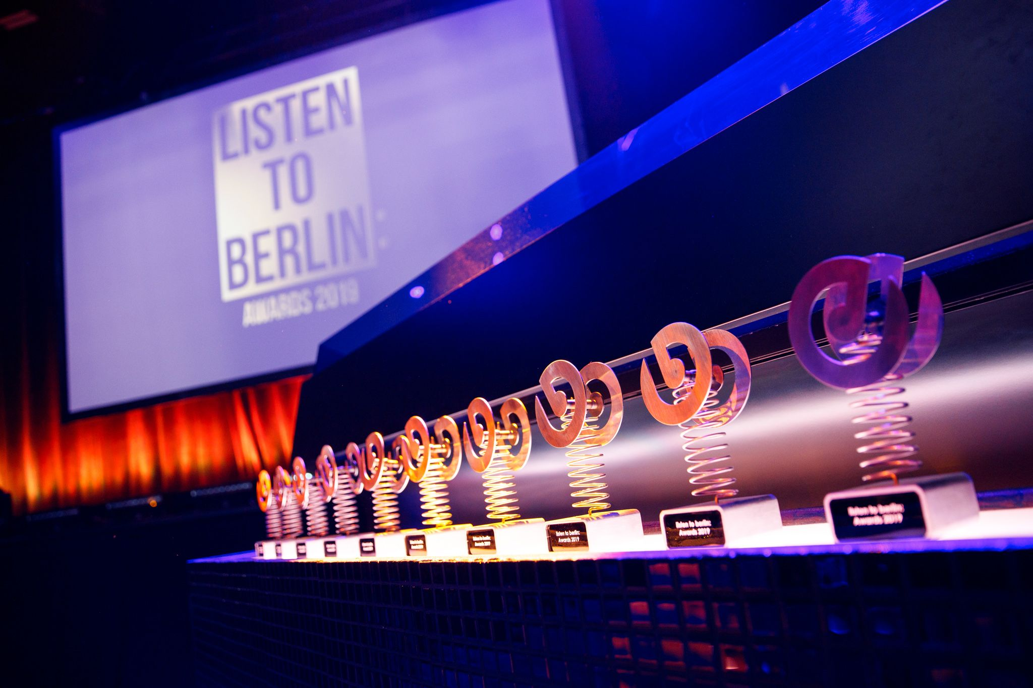 listen to berlin: Awards 2020 – We're awarding the most influential artists and key figures in Berlin's music scene