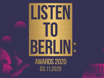 listen to berlin: Awards 2020